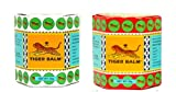 2 x19.4g TIGER BALM RED WHITE Herbal Massage ointment Pain Relief Muscle Menthol
