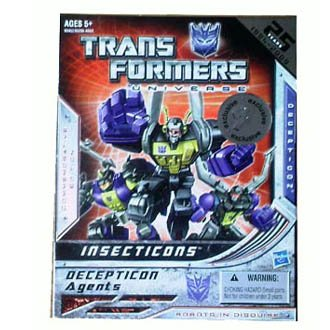 Transformers Universe Commemorative Edition Insecticons Reissue