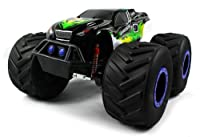 TNT Machine 4X4 Electric RC Truck 1:8 Giant Monster Truck Off Road 4WD 4 Wheel Drive Huge Scale Ready To Run RTR (Colors May Vary) from Velocity Toys