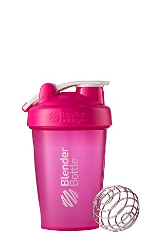 Blenderbottle Classic Loop Top Shaker Bottle, Pink, 20 Ounce
