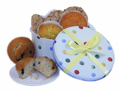 Cookies Biscuits Muffins in Emma Bridgewater Tin