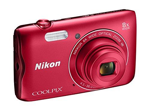 nikon-coolpix-a300-fotocamera-digitale-compatta-201-mp-zoom-8x-vr-filmati-hd-bluetooth-wi-fi-rosso-n