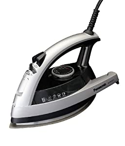 Panasonic NI-W750TS 360-Degree Quick Multi-Directional Steam Iron, Silver and Black