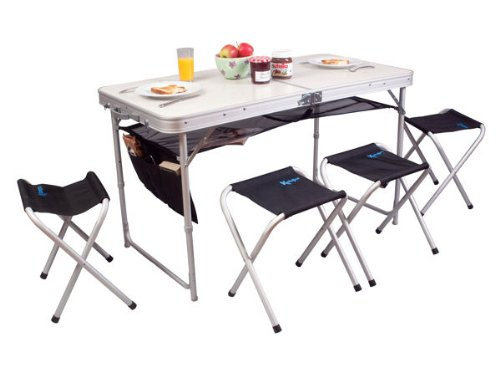 Kampa Espresso Table and Stool Set