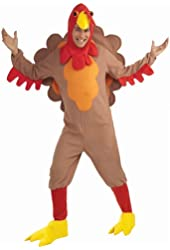 Forum Novelties Men's Adult Fleece Turkey Costume