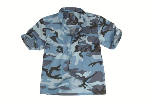 Hawaii-Hemd sky blue Gr.XL, Restposten !!