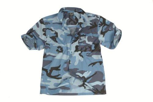 Hawaii-Hemd sky blue Gr.XL, Restposten !!