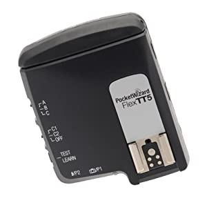 PocketWizard FlexTT5 Transceiver For Nikon TTL Flashes and Digital SLR Cameras