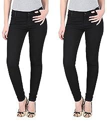 NGT Women's Twin Black Jeans