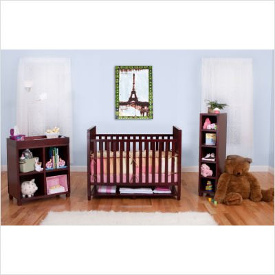 BSF Baby Cabana 3 Piece Complete Nursery Set Box 1, Cherry