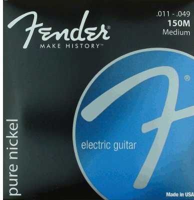 Fender Accessories 073-0150-408 Pure Nickel Electric