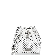 Lexie Crossbody<br>White Perf Fashion