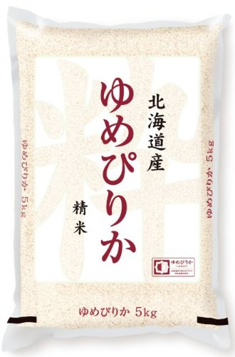 [Rice] Hokkaido from rice dream happiness than 5 kg as 25 annual