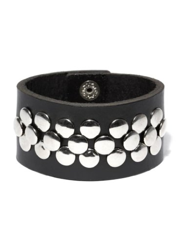 Fume Black Leather Bracelet (FW BL 65)