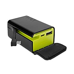 TYLT - Powerplant - Portable Battery Pack - 5200 mAh - Charge two devices (Any USB Device + Micro-USB)