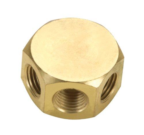 TEKTON 4730 3-Way Air Hose Splitter Manifold, 1/4