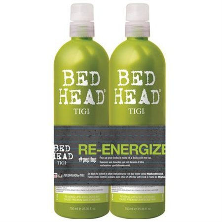 Bed Head Re-Energize Shampoo and Conditioner Duo, 25.36 oz (Shampoos And Conditioners compare prices)