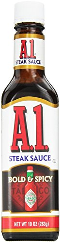 A.1. Sauce 10oz Glass Bottle (Pack of 4) Select Flavor Below (Bold & Spicy) (Sweet And Spicy Tabasco Sauce compare prices)