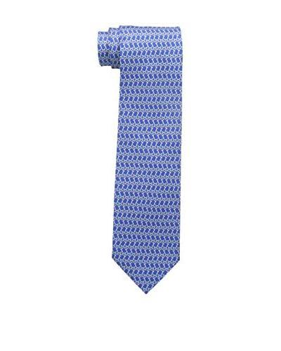 Salvatore Ferragamo Men's Novelty Tie, Bluette