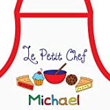 Personalised Little Chef Baking Apron for Boys, Kids Aprons, Personalised Gift Ideas for Boys