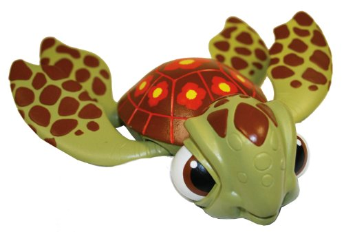 "Swimways FINDING NEMO Sea Turtle Squirt Swimming 8"" Pool Bath Toy - 1"
