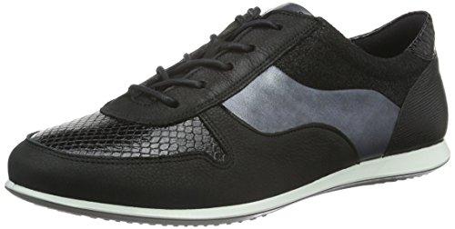 Ecco Touch Sneaker, Scarpe da Ginnastica Basse Donna, Nero(Black/Black 56119), 37 EU