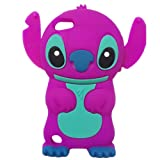 Disney 3D Cute Soft Silicone Cover Cases for Ipod Touch 5 5g 5th Generation (Stitch & Lilo - Style 5)