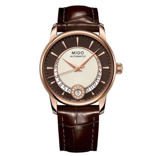 mido-damen-armbanduhr-xs-baroncelli-analog-automatik-leder-m0072073629100