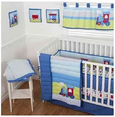 Sumersault Choo Choo Baby Bedding