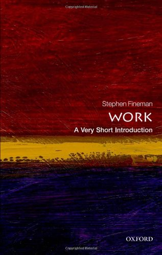 Work: A Very Short Introduction (Very Short Introductions) Image