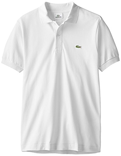 Lacoste鳄鱼  Short-Sleeve Classic-Fit Pique 男士纯棉Polo衫,多色可选图片