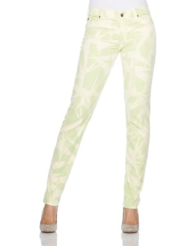 7 For All Mankind Jeans Verde/Beige W23