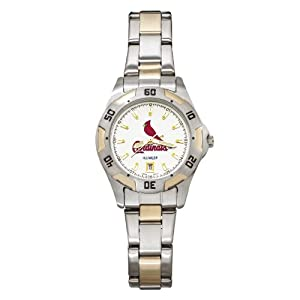 MLB St. Louis Cardinals Ladies All-Pro Sports Watch by Logo Art