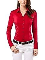 Vincenzo Boretti Camisa Mujer (Rojo)