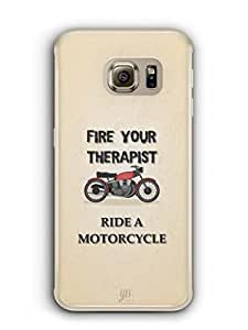 YuBingo Ride A Motorcycle Mobile Case Back Cover for Samsung Galaxy S6 Edge