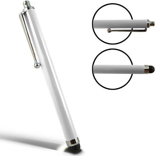 SAMRICK - Hohe Kapazitive Aluminium Kugelschreiber für Apple iPad 1, iPad 2, iPad 3, iPad 4 4G & iPad Mini - WEIß (WHITE)