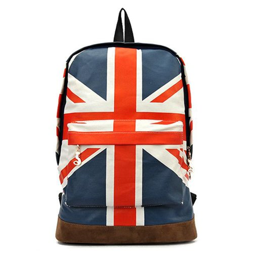 Tobey Unisex Canvas Uk Flag ShoulderBag Should Bag Handbag School Bag Backpack For Girl Lady Boy Man Woman