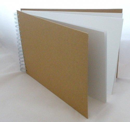 a4-plain-front-papier-mache-scrapbook-album-30-x-215-cm-12-x-8