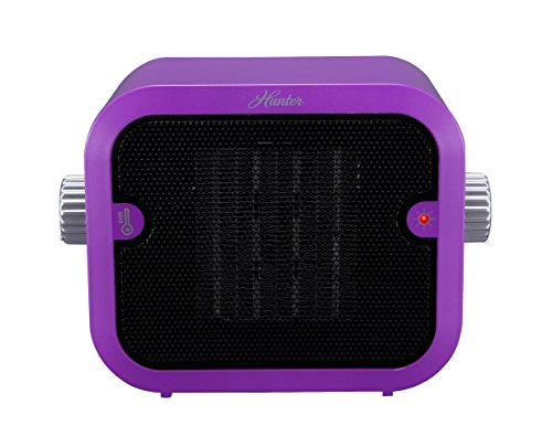 Hunter PC-003PU Retro Ceramic Space Heater (Purple) (Hunter Heater Ceramic compare prices)