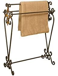 Oil Rubbed Bronze Metal Quilt Rack