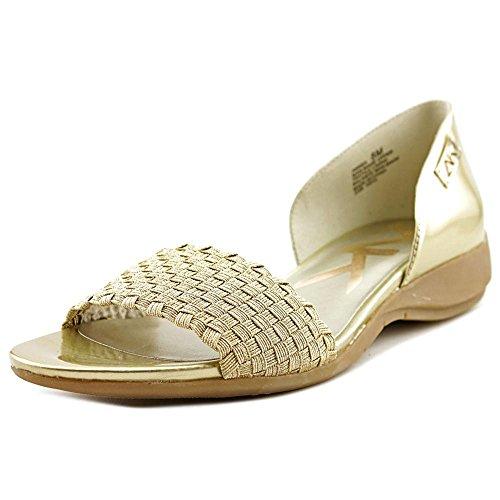 anne-klein-sport-kea-femmes-us-6-dore-chaussure-plate-eu-36