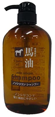 Horse Oil Non-silicon Shampoo Japan Import, 600ml