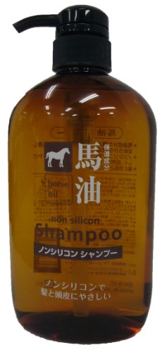 Horse-Oil-Non-silicon-Shampoo-Japan-Import-600ml
