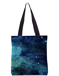 Snoogg Pillars Of Creation Eagle Poly Canvas Tote Bag
