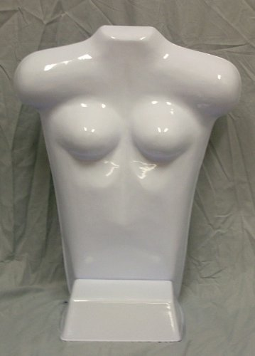 Brand New High Quality Economy Female Free Standing Tabletop Mannequins White Box of 3 (24W)