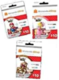 Photos with Mario AR Card 3 Pack (Includes Mario, Peach, and Goomba cards, each with $10 for Nintendo eShop)