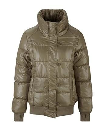 Bench Damen Jacke Jacke Shine ON braun (shitake) X-Small