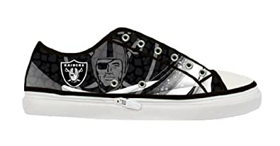 ... .com: Oakland Raiders Team Logo Lady's Nonslip Canvas Shoes: Shoes