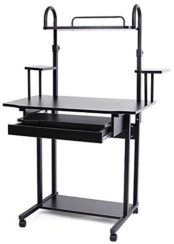 bureaux et postes de travail homcom 3662970009802 moins cher en ligne maisonequipee. Black Bedroom Furniture Sets. Home Design Ideas