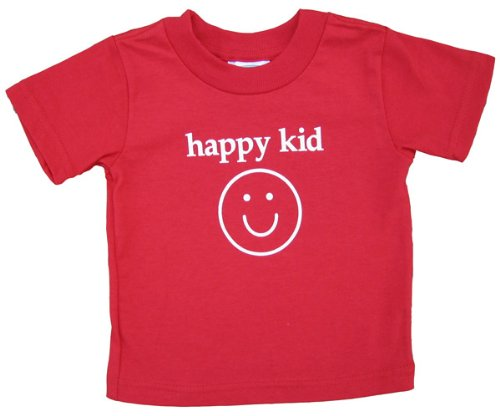 Happy Kid Red Shirt - Baby 18 Mth, S/S front-47565